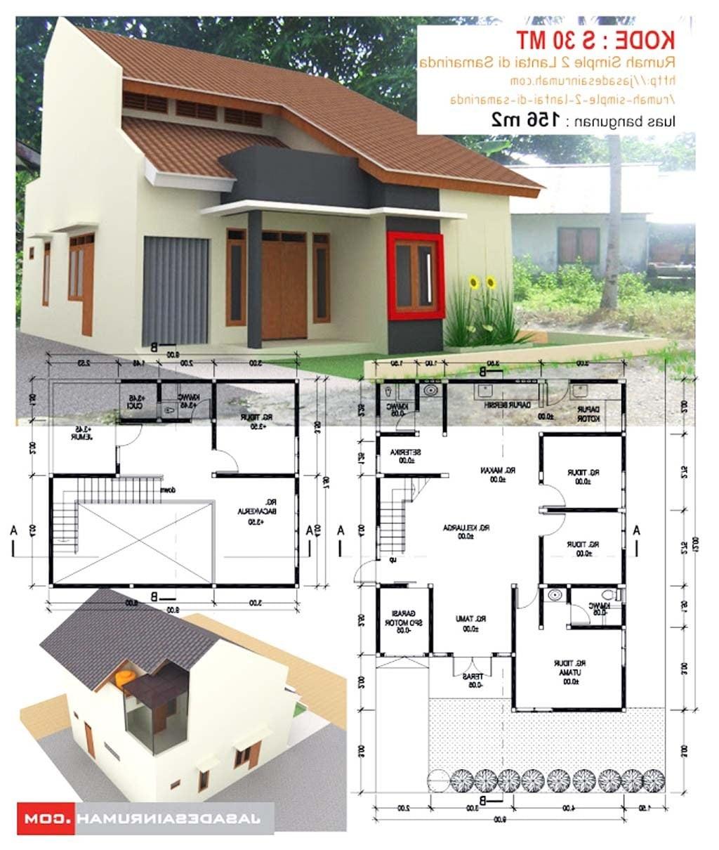 Download Desain Rumah Sederhana Dari Papan Png Sipeti