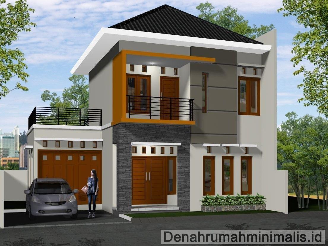 55 Ide Desain Rumah Minimalis Modern 2 Lantai Tampak Depan Paling Banyak Di Minati Deagam Design