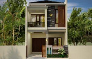 56 ide desain rumah minimalis 2 lantai ukuran 5x9 yang