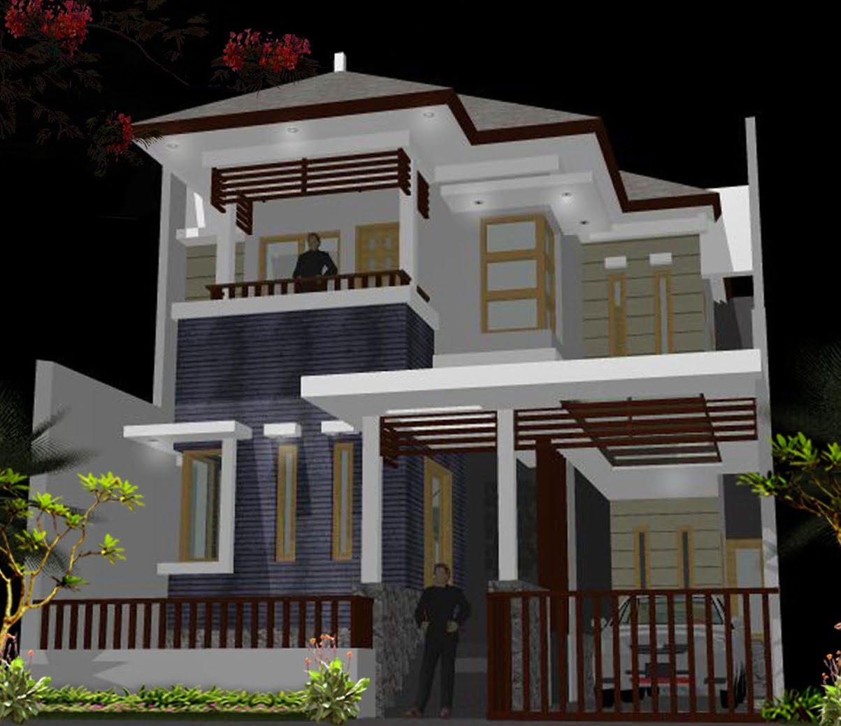 Desain Rumah Minimalis Full Bangunan - Deagam Design