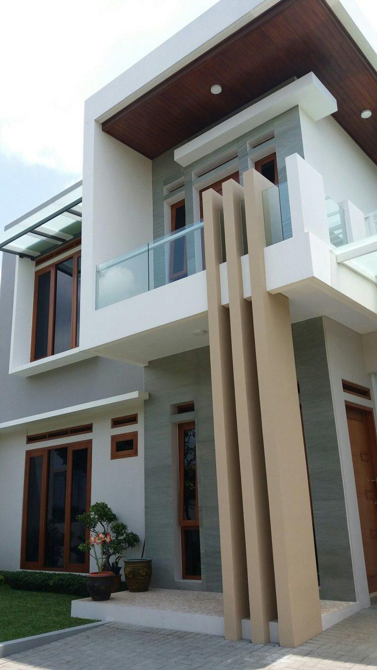 59 Macam Desain Interior Rumah 2 Lantai Minimalis Tampak Depan Paling Banyak Di Minati Deagam Design
