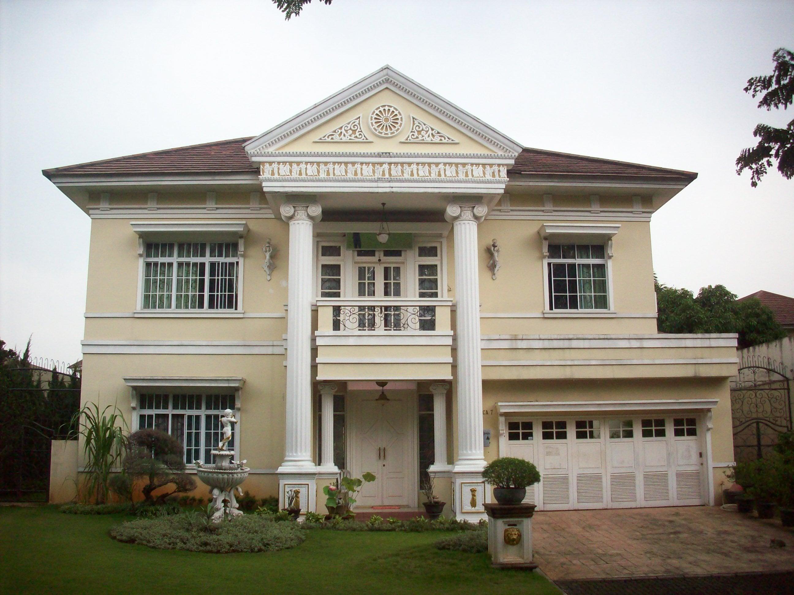 62 Arsitektur Desain Rumah Mewah Fizo Omar Kreatif Banget Deh