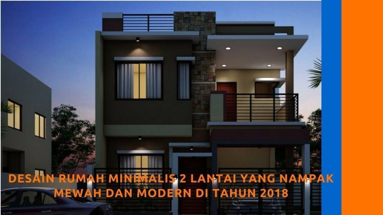 64 Trend Desain Rumah Mewah Minimalis 2 Lantai Terpopuler Yang Harus Kamu Tahu Deagam Design
