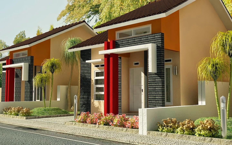 65 Contoh Desain Warna Cat Rumah Minimalis Type 36 Tampak ...