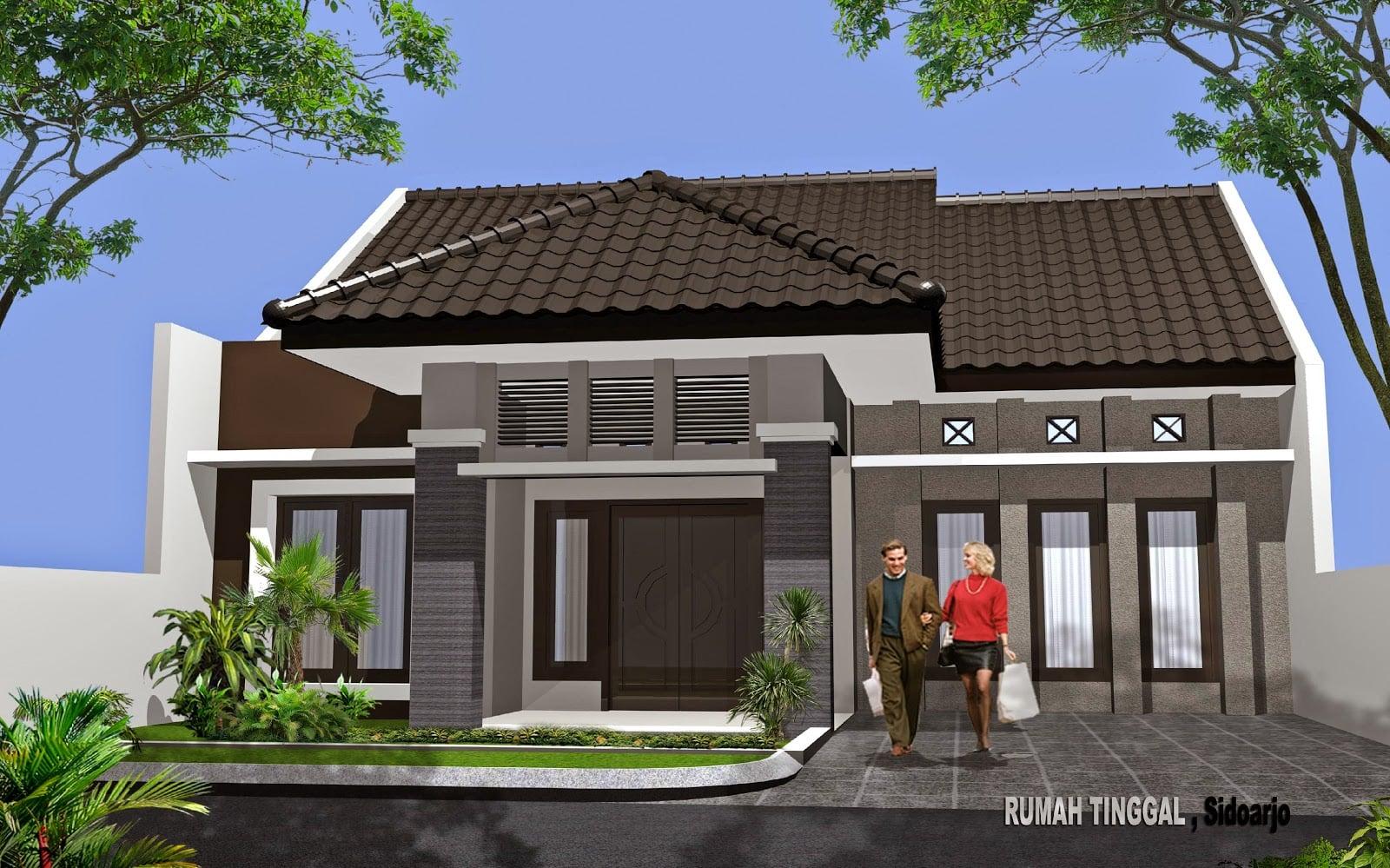 66 Model Desain Rumah Modern Kampung Yang Belum Banyak Diketahui