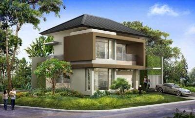 28 arsitektur desain rumah hook minimalis modern 2 lantai