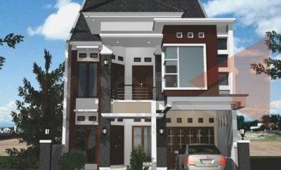 28 arsitektur desain rumah dua tingkat minimalis modern