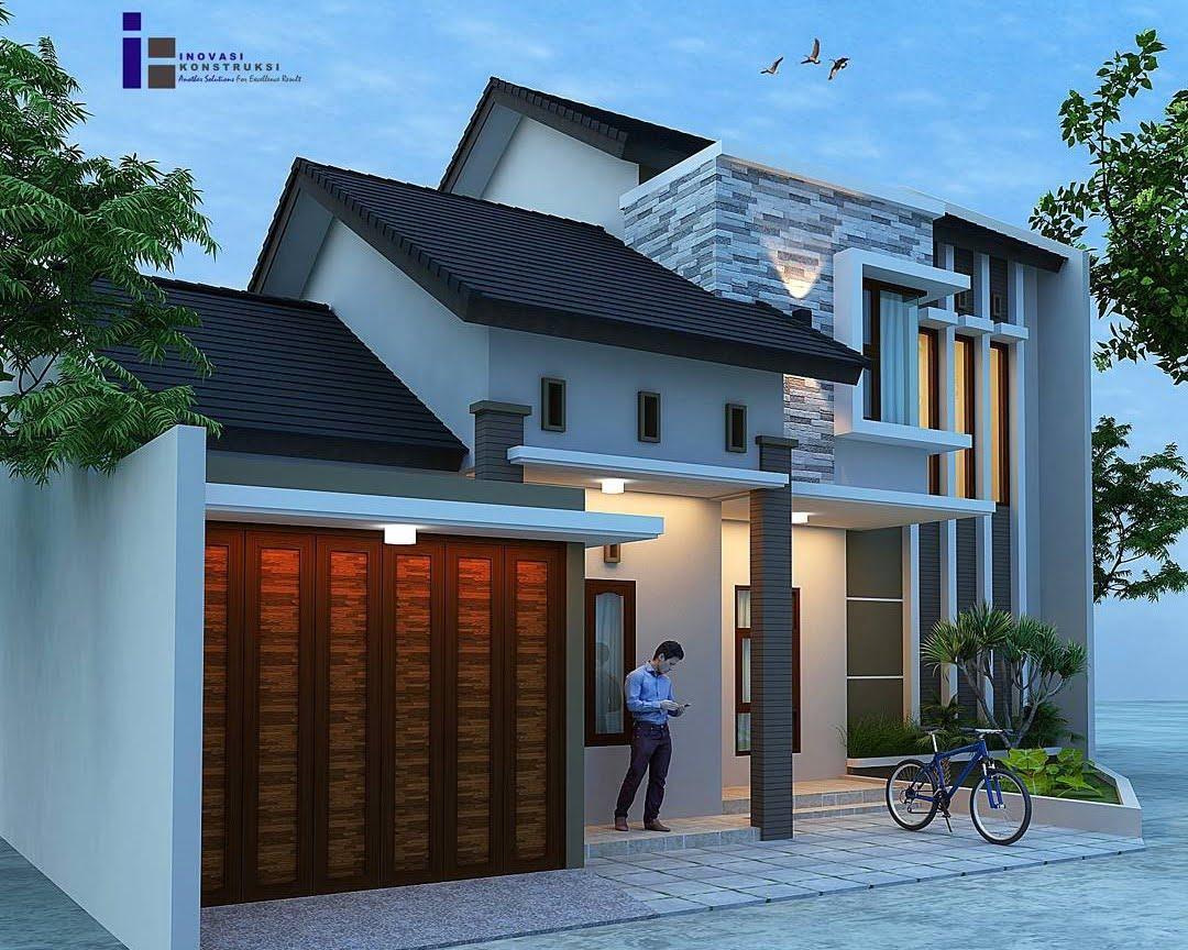 68 Foto Desain Bentuk Rumah Minimalis Terbaru 2019 Paling ...