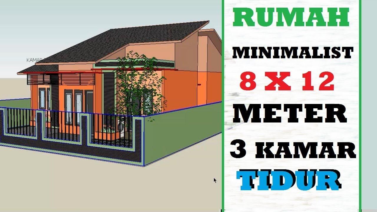 68 Model Desain Rumah Minimalis 8X12 Satu Lantai Paling Banyak Di Cari -  Deagam Design