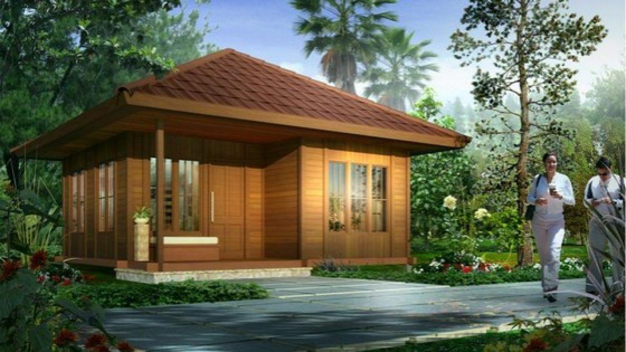 68 Trend Desain Rumah Kayu Minimalis Modern Panggung Yang Wajib
