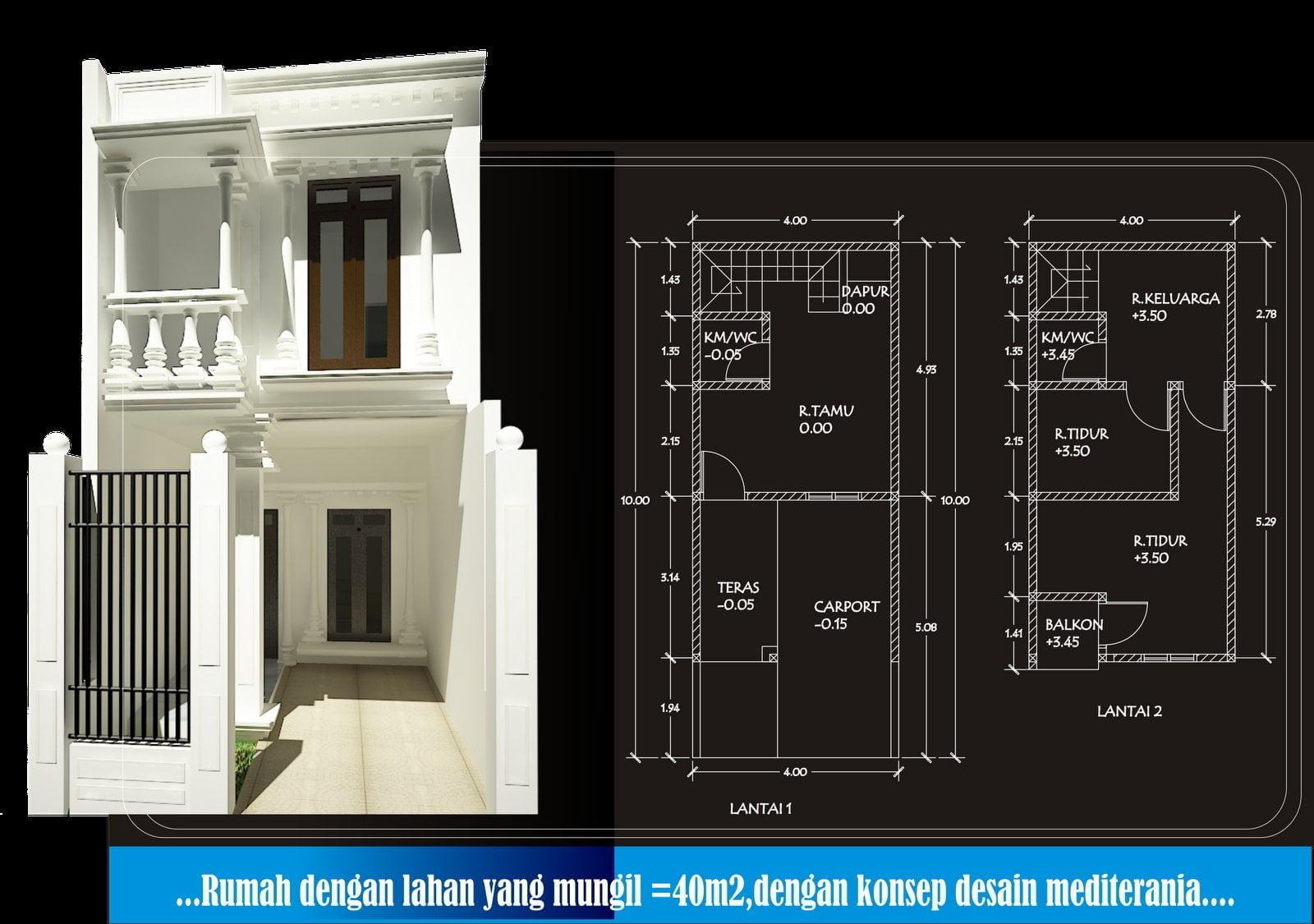 71 Gambar Desain Rumah Minimalis 2 Lantai Lebar 3 Meter Paling Populer Di Dunia Deagam Design