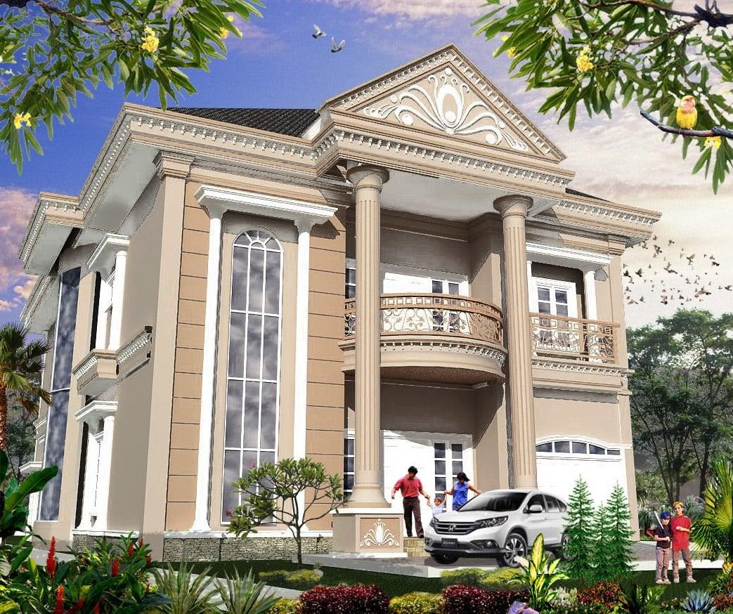 72 Arsitektur Desain Rumah Bergaya Klasik Minimalis Kreatif Banget Deh