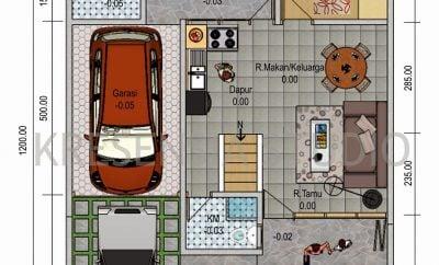 36 kumpulan desain rumah minimalis modern 2 lantai ukuran