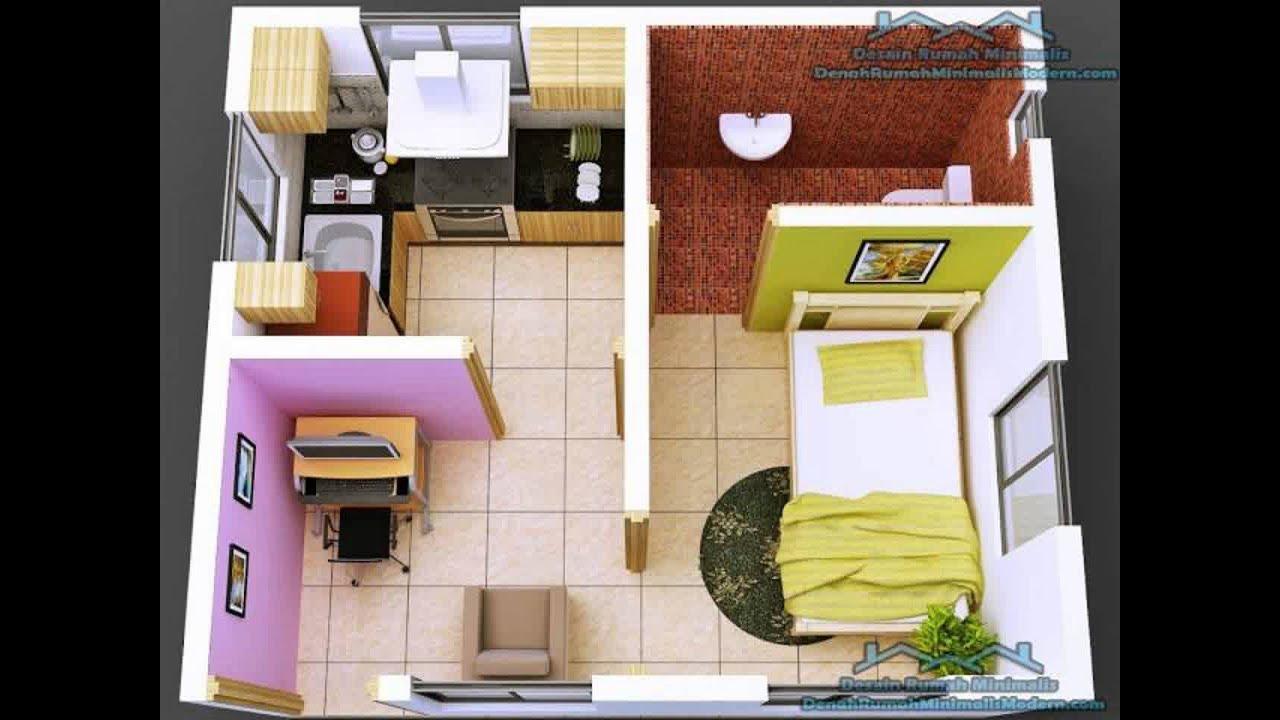 Desain Rumah Minimalis 4X6 - Deagam Design