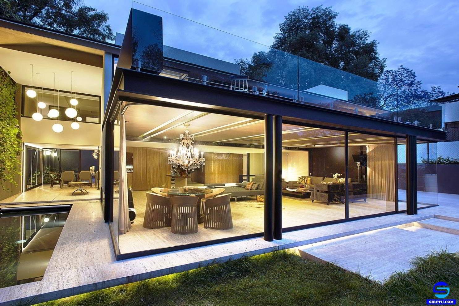 73 Gambar Desain Tampak Depan Rumah Minimalis Full Kaca Paling Terkenal -  Deagam Design