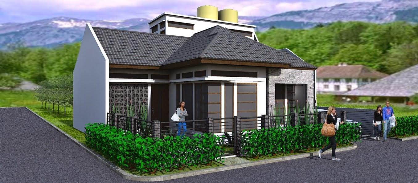 74 Arsitektur Desain Model Rumah Minimalis Modern 1 Lantai Hook