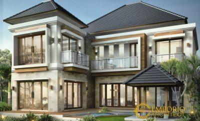 52 ide desain cat eksterior rumah minimalis 2 lantai