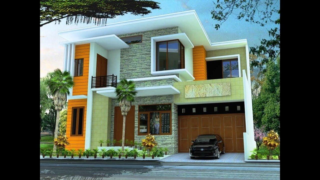 75 Trend Desain Perpaduan Warna Cat Rumah Minimalis Tampak ...