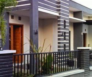 76 foto desain rumah mewah tanpa atap 1 lantai terbaru dan
