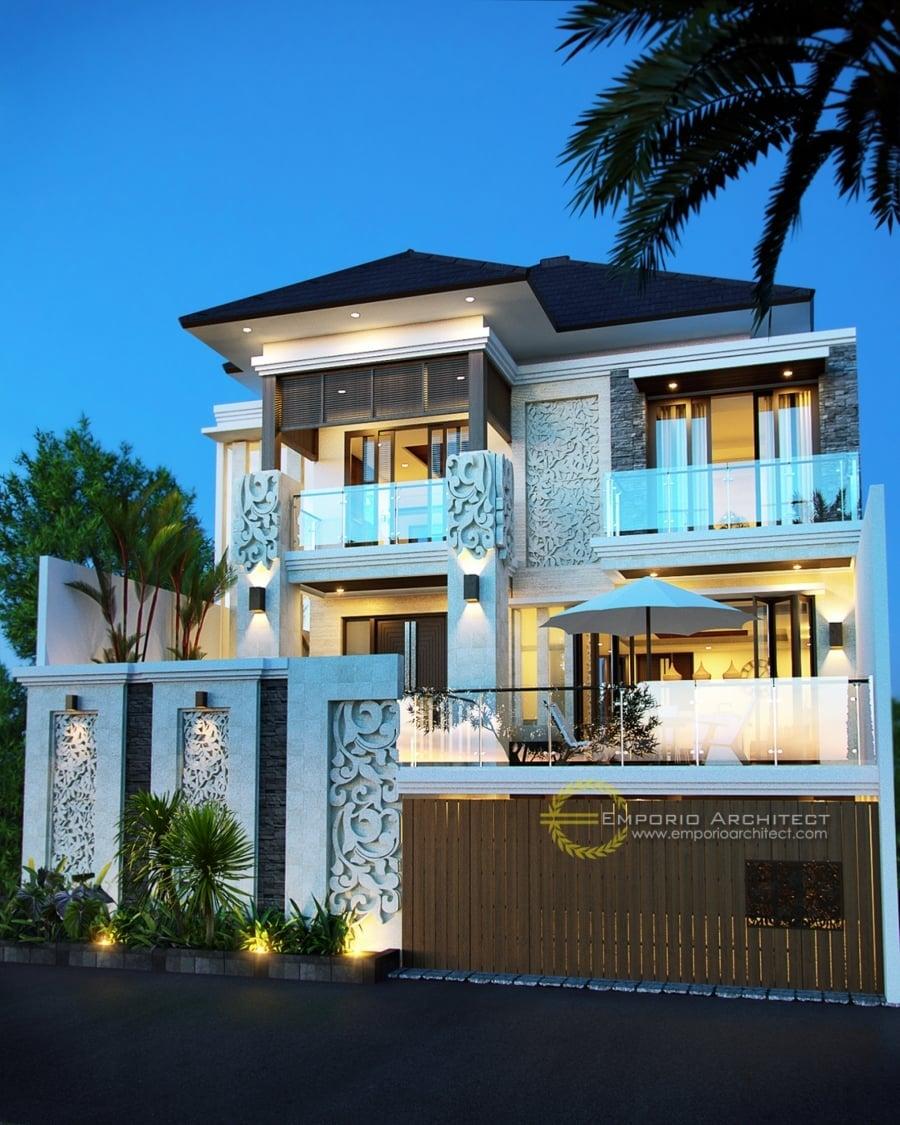 Desain Rumah Mewah 2 Lantai Modern Deagam Design