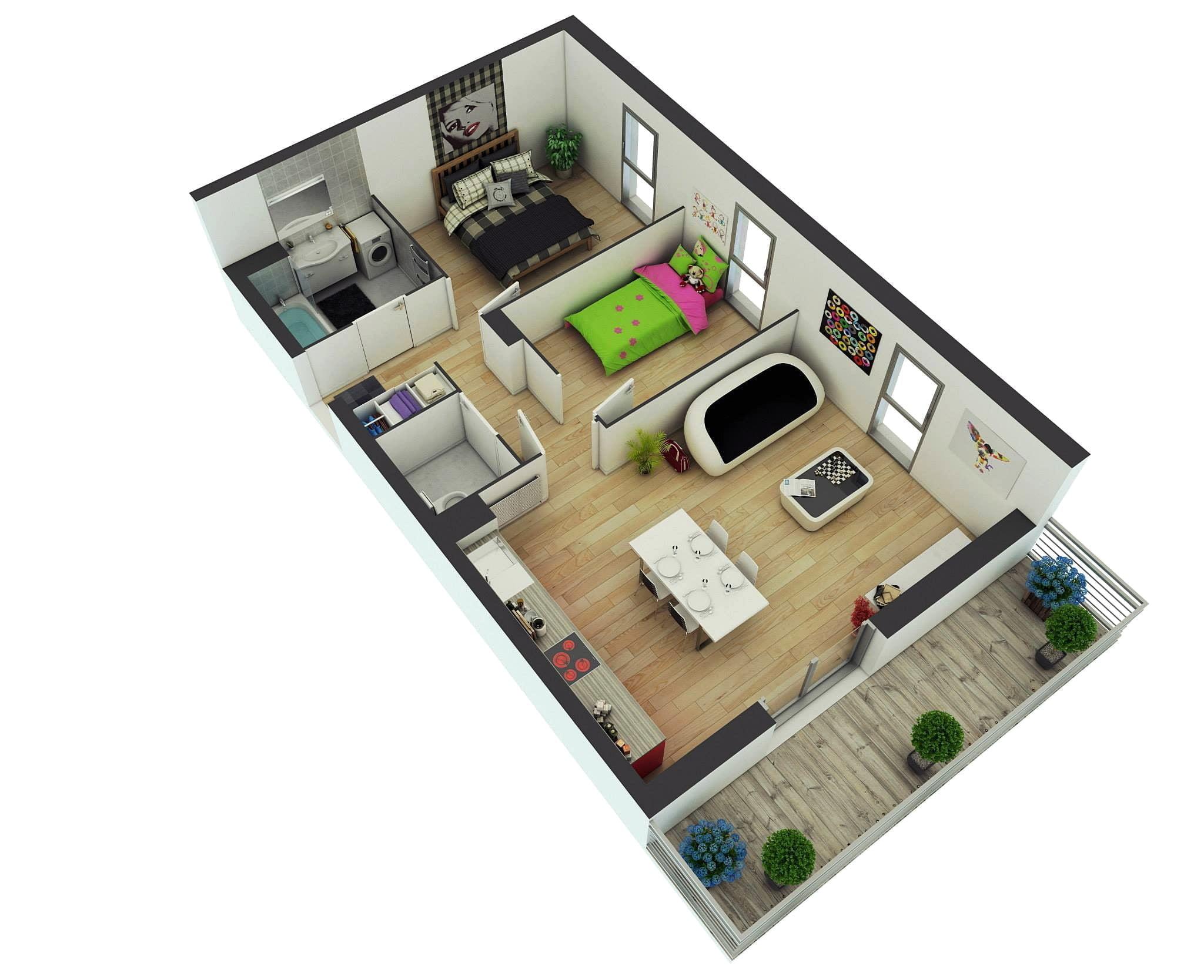 76 Model Desain Model Rumah Minimalis 2 Kamar Sederhana Yang Belum Banyak Diketahui Deagam Design