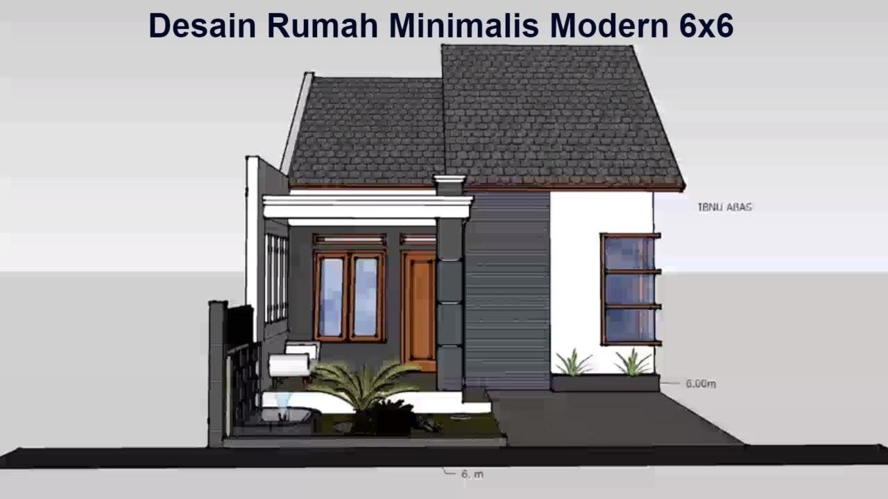 78 Foto Desain Rumah Minimalis Sederhana Ukuran 5X6 Meter Istimewa Banget -  Deagam Design
