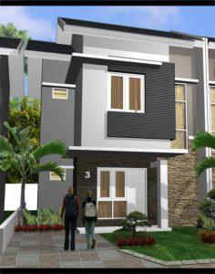 79 inspirasi desain denah rumah minimalis 1 lantai type