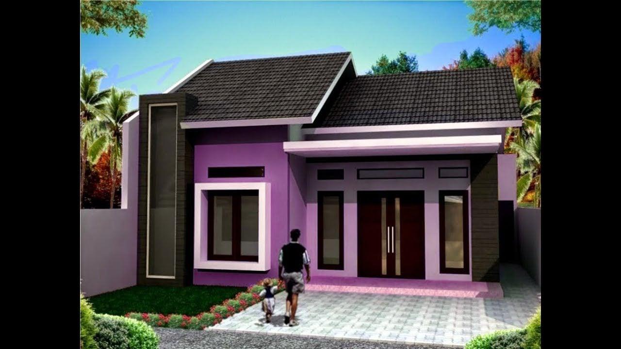 79 Macam Desain Model Rumah Sederhana Modern 1 Lantai Paling Banyak di Minati