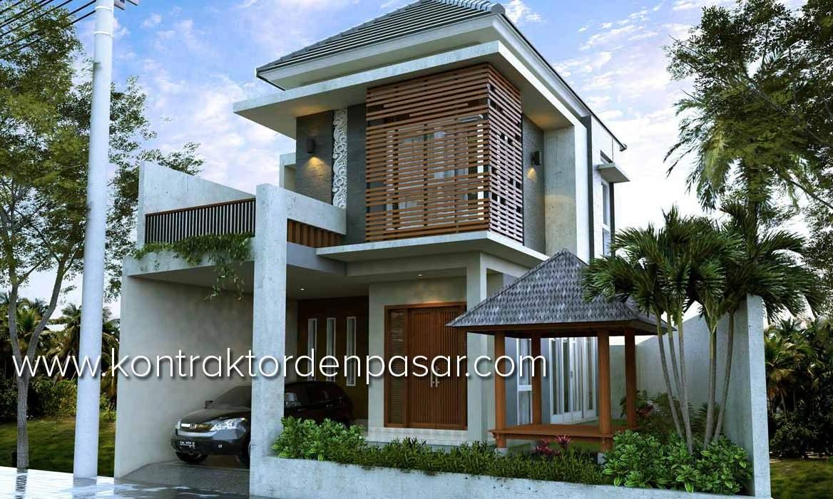 Desain Rumah Bali Minimalis Deagam Design