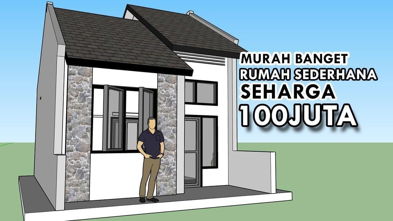 Desain Rumah Minimalis Harga 100 Juta