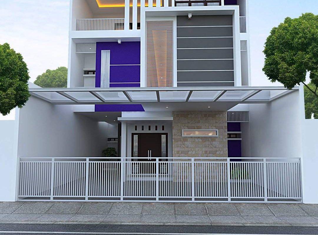 88 Inspirasi Desain Rumah Minimalis Modern 2 Lantai Tampak Depan Terpopuler Yang Harus Kamu Tahu Deagam Design