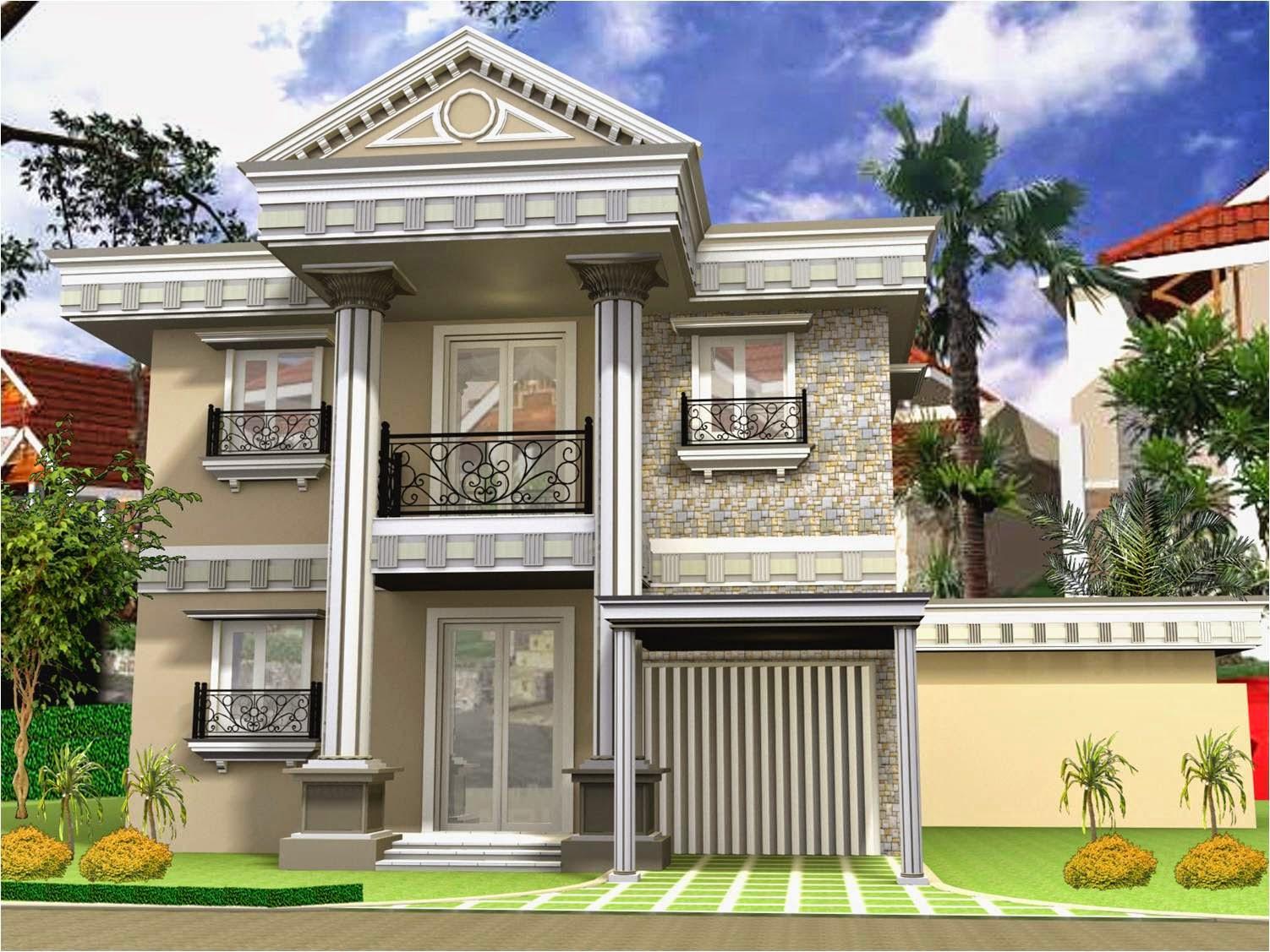 89 Macam Desain Rumah Minimalis 2 Lantai Ala Eropa Paling Terkenal Deagam Design