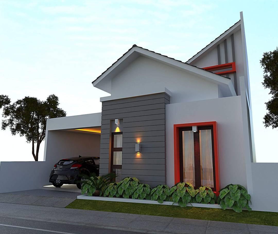 90 Contoh Desain Rumah Minimalis Di Gang Sempit Paling Banyak Di Cari - Deagam Design