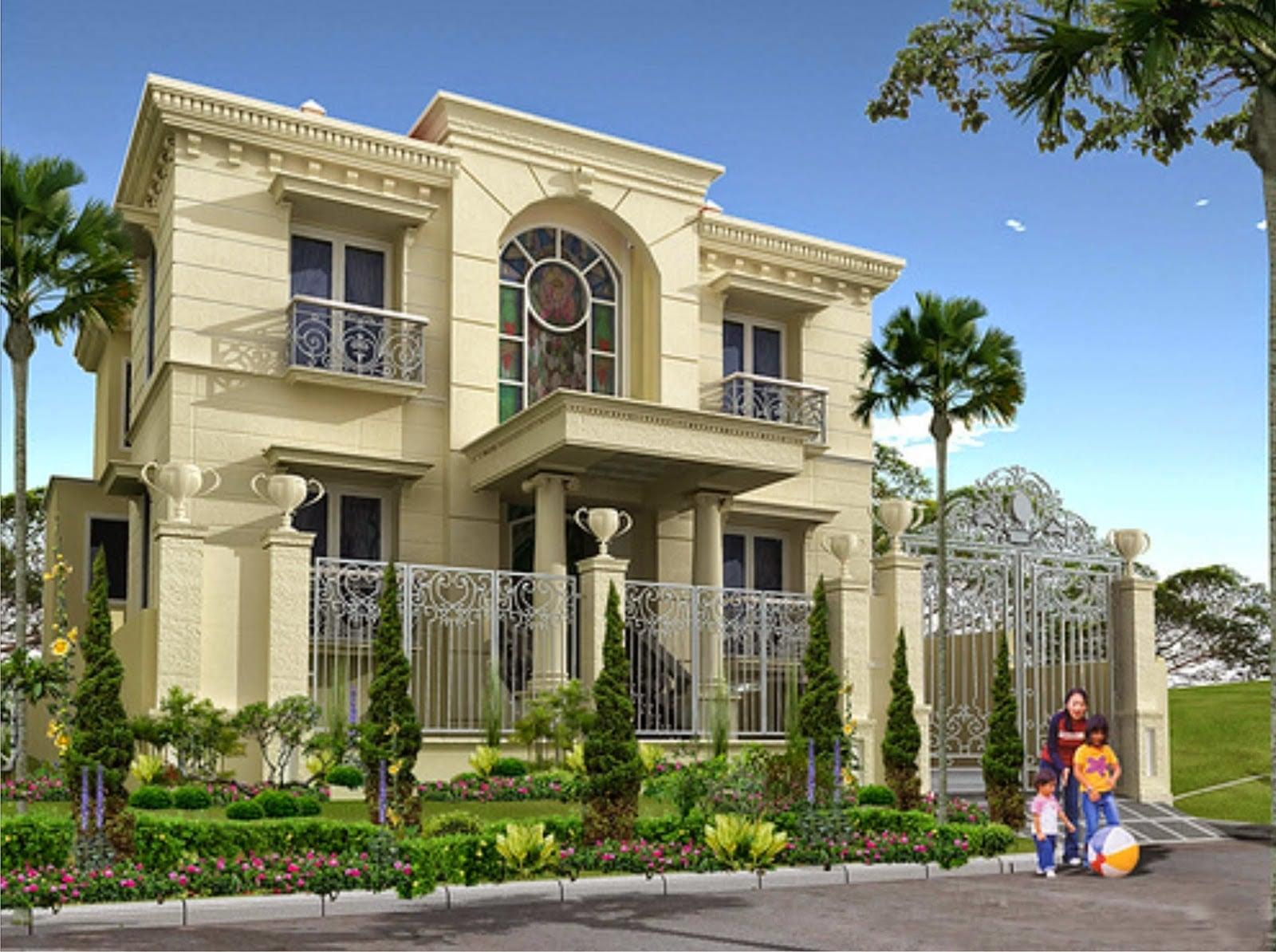 90 Ragam Desain Warna Cat Tembok Untuk Rumah Klasik Paling ...
