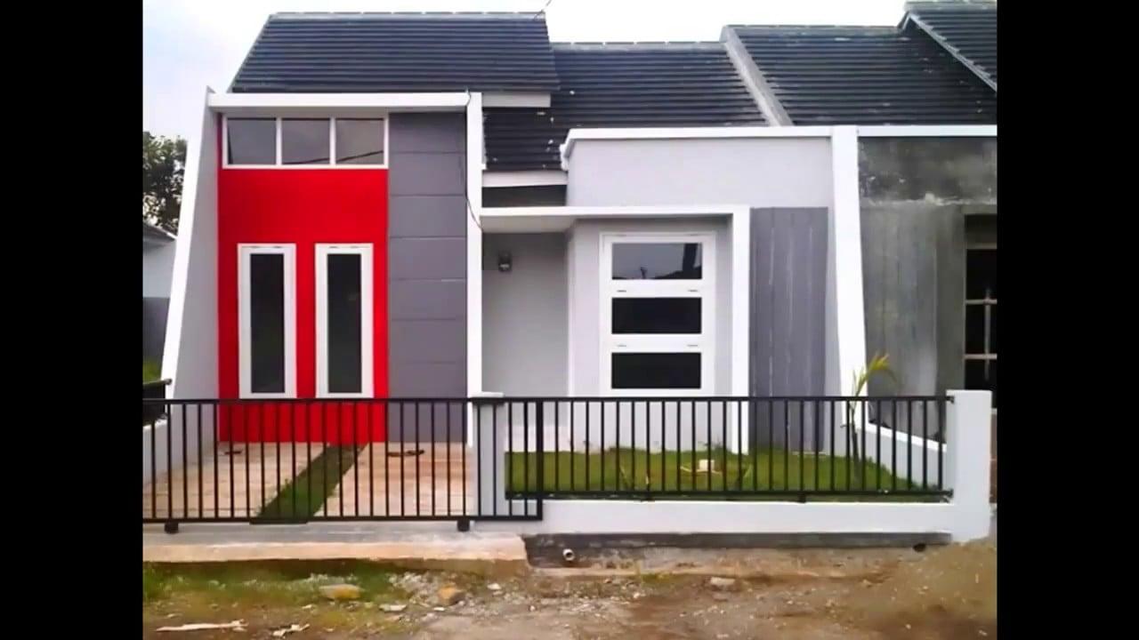 91 Trend Desain Warna Cat Rumah Minimalis Type 36 Tampak Depan