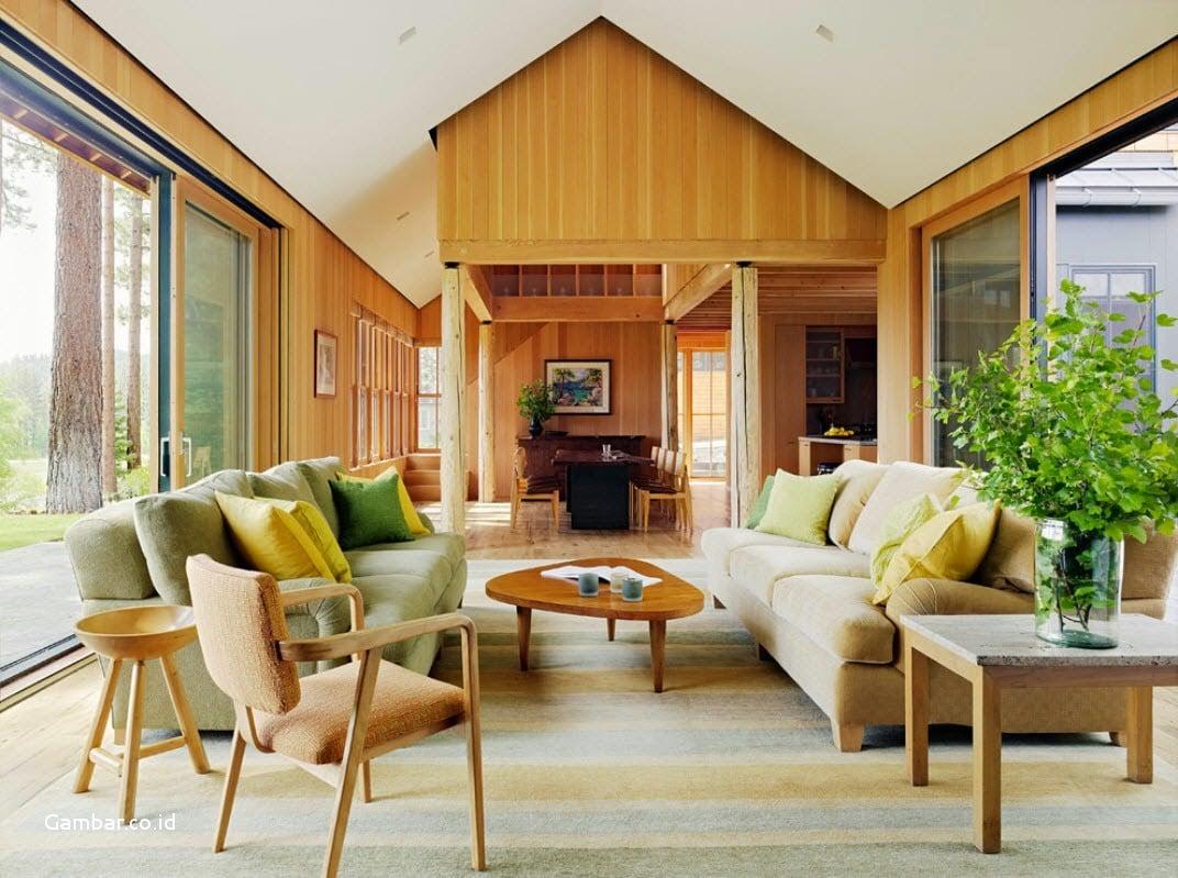 Desain Rumah Rustic Yang Bagus - Deagam Design
