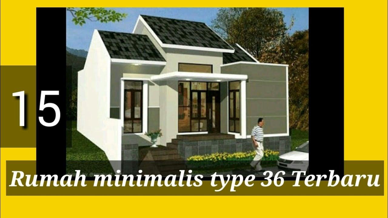 96 Gambar Desain Rumah Minimalis Type 36 Terbaru Yang ...