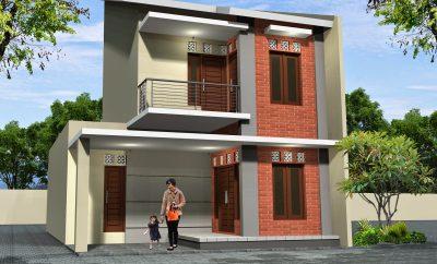 52 ide desain rumah minimalis 2 lantai bentuk l paling