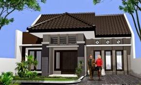 18 contoh desain tampak depan rumah minimalis ukuran 8x12