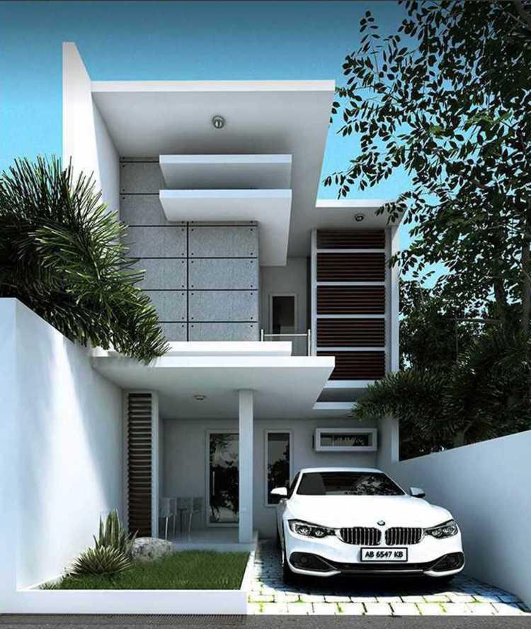 99 Foto Desain Rumah Minimalis 2 Lantai Full Kaca Yang ...