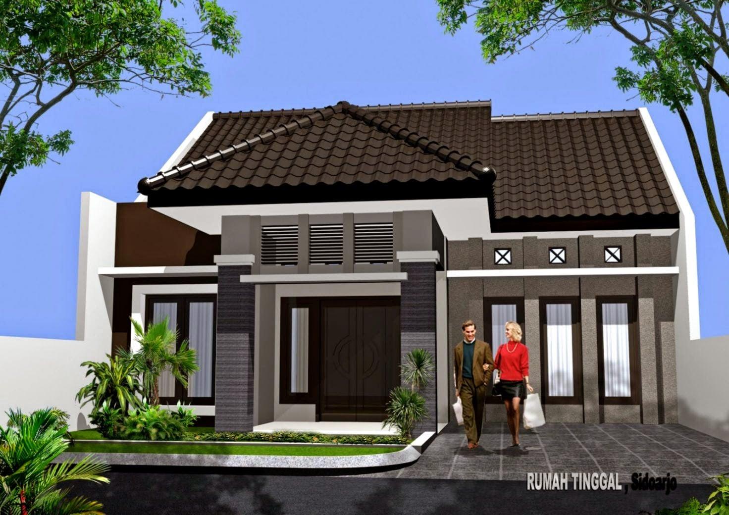 99 Gambar Desain Model Rumah Sederhana Modern 1 Lantai Kreatif Banget Deh